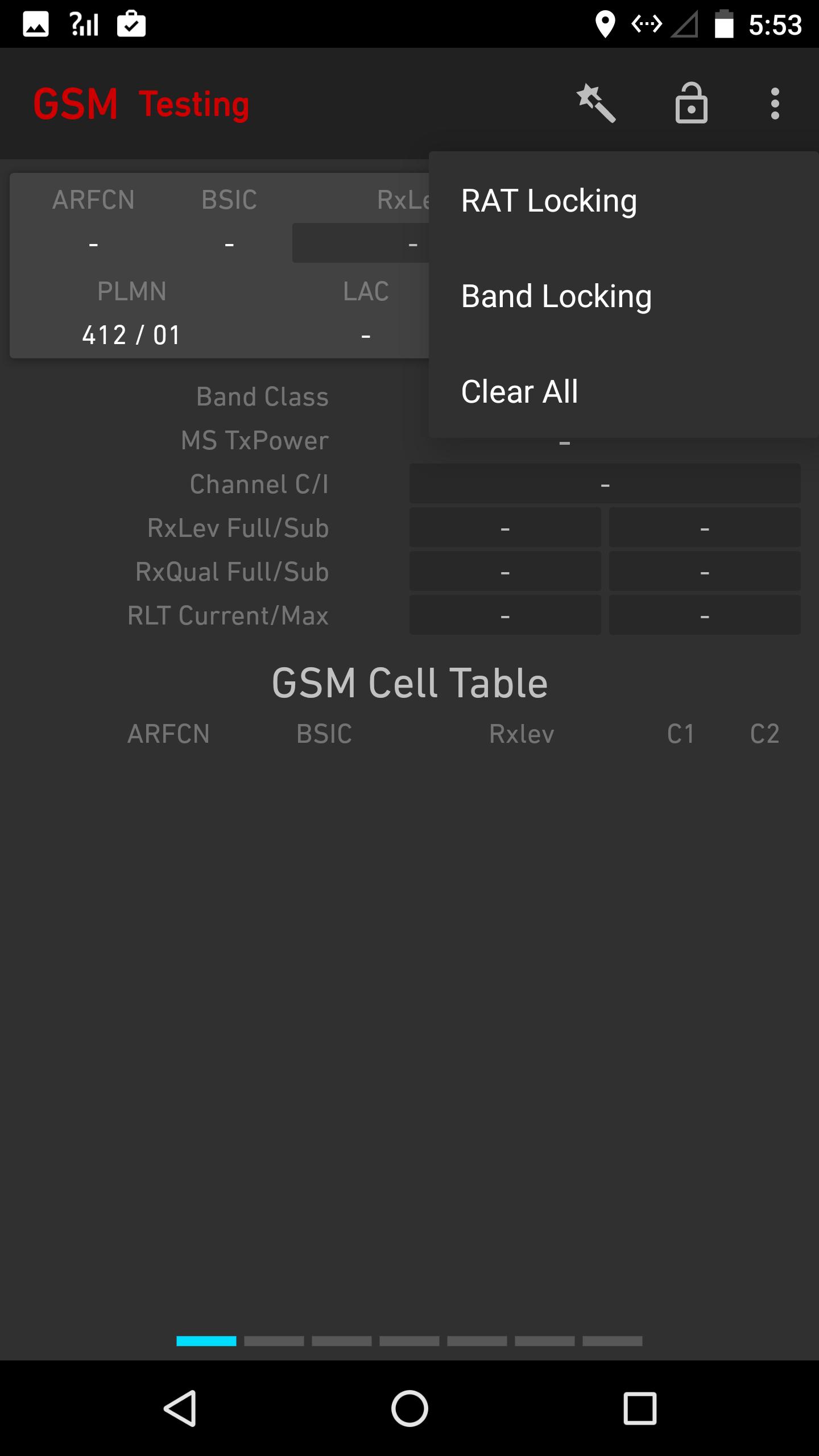 Network Signal Guru on the Nexus 6P – Trona-Tech